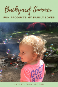 4 Summer yard products my family loves