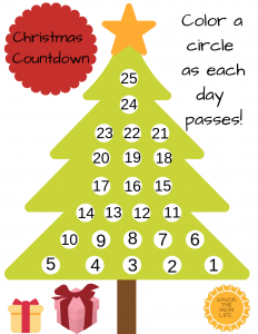 Christmas Tree Countdown