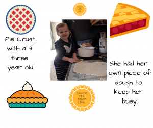 Pie Crust Making with a Kid