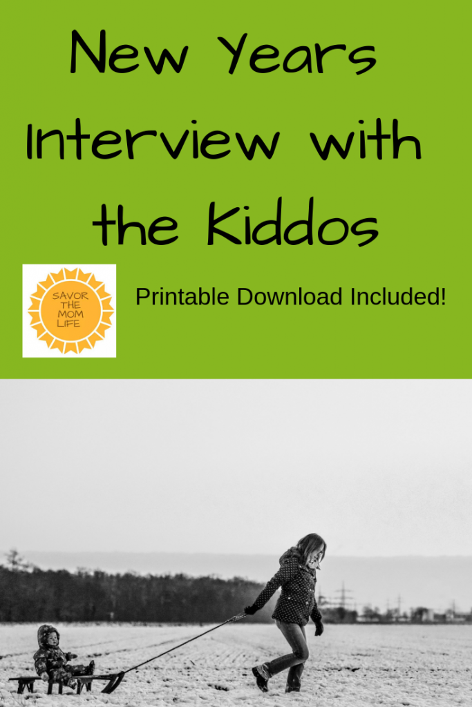 New Years Interview with the Kiddos
