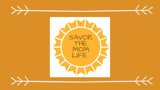 Savor the Mom Life Header Logo