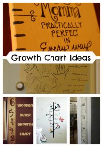 DIY Growth Chart Ideas