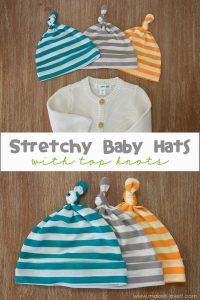 Stretchy Baby Hats