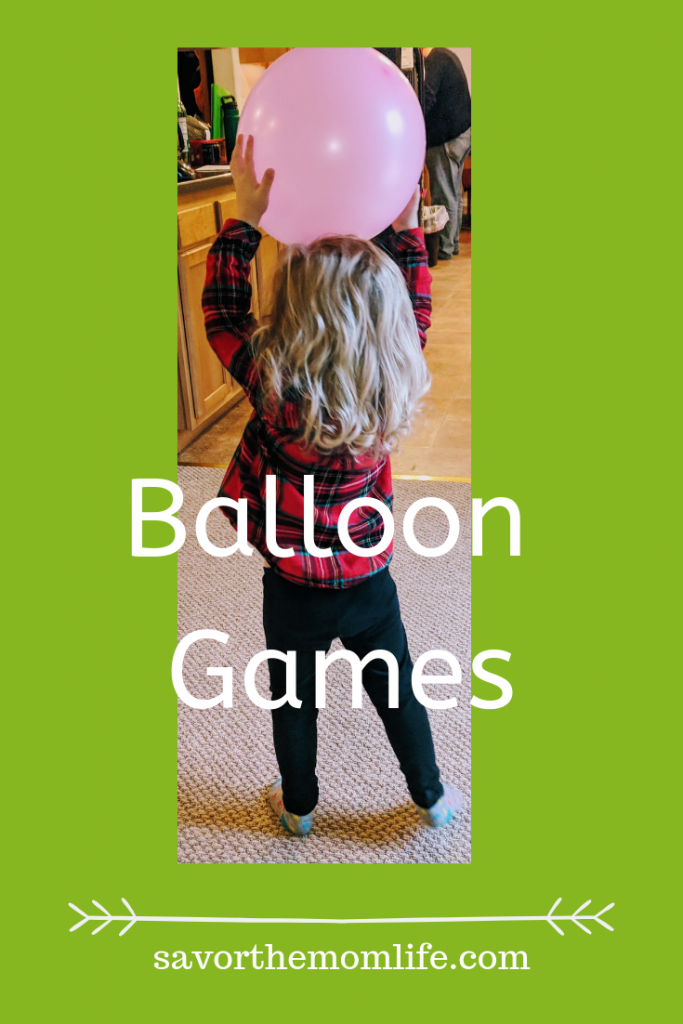 Balloon Games. Fun ways to beat cabin fever with the kids.