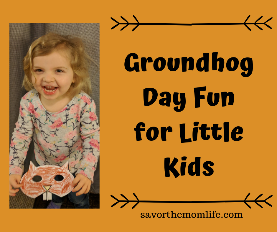 Groundhog Day Fun for Little Kids. Printable activities, poem, book list and more!
