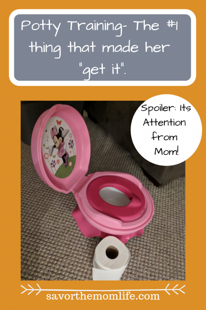 Potty Training- The #1 thing that made her _get it_.