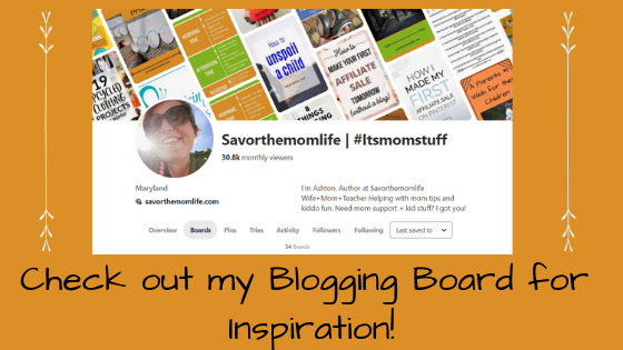 Check out my Blogging Board on Pinterest for some inspiration.