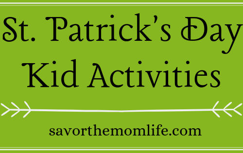 St. Patrick's Day Kid Activities