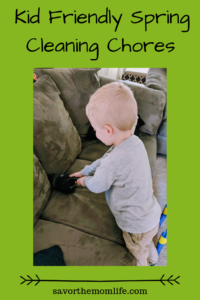 Kid Friendly Spring Cleaning Chores