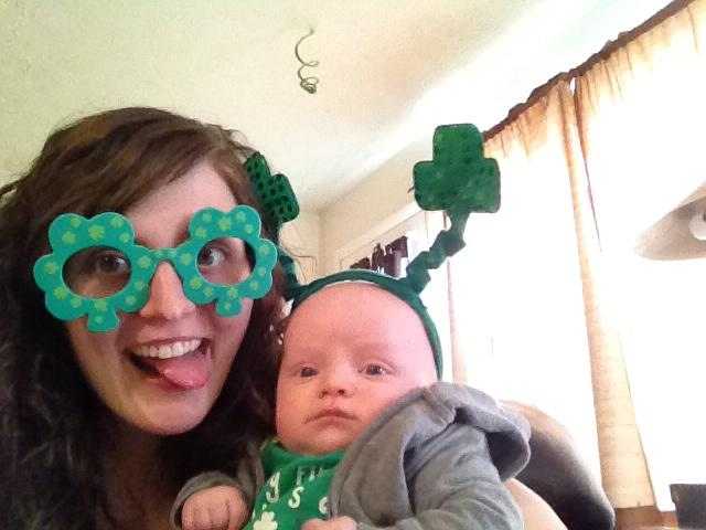 St. Patrick's Day Kid Activities- Baby's First St. Patrick's Day!