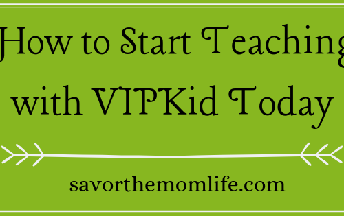 How to Start Teaching with VIPKid Today