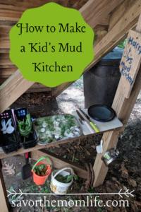 Kid's Mud Kitchen