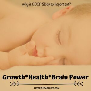 Why is GOOD Sleep so important? Growth, Health and Brain Power!