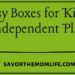 Busy Boxes for Kids- Independent Play