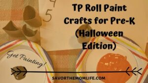 Get Painting. TP Roll Paint Crafts for Pre-K (Halloween Edition)