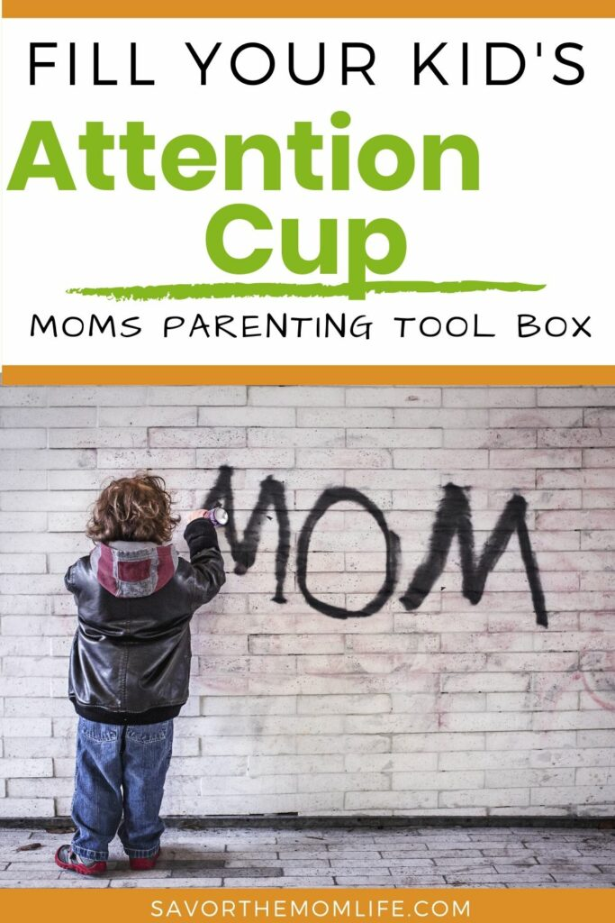 Fill your Kid's Attention Cup