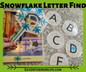 Snowflake Letter Find