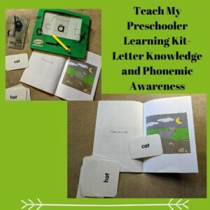 Teach My Preschooler Learning Kit- Letter Knowledge and Phonemic Awareness