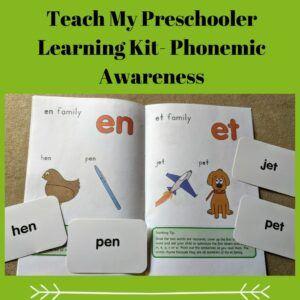 Teach My Preschooler Learning Kit- Phonemic Awareness