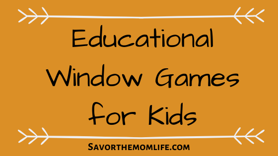 Educational Window Games for Kids