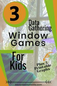 3 Data Gathering Window Games for Kids