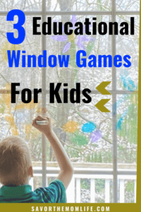 3 Educational Window Games for Kids