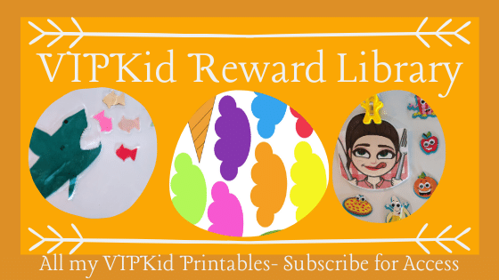 VIPKid Reward Library. All my VIPKid Printables- Subscribe for Access.