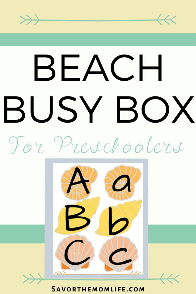 Beach Busy Box