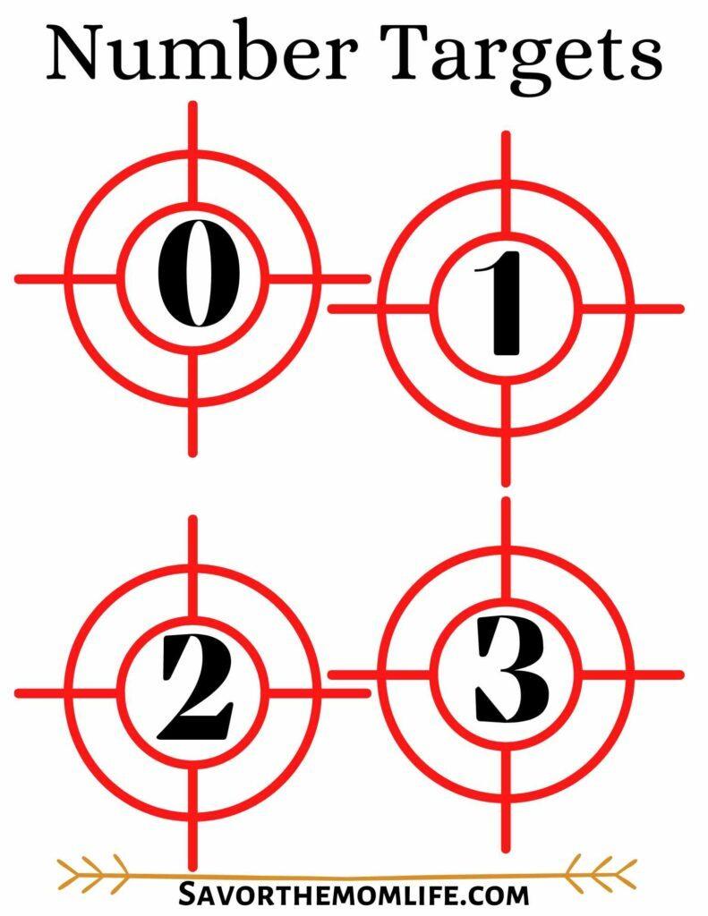 Number Targets
