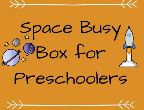 Spacve Busy Box for Preschoolers