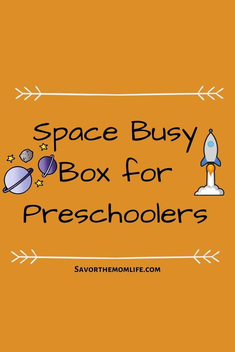 Spacve Busy Box for Preschoolers