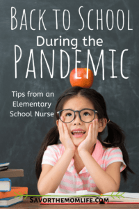 in a Pandemic -Tips from an Elementary School Nurse