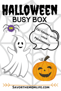 Halloween Busy Box- Get Spooky with your Preschoolers