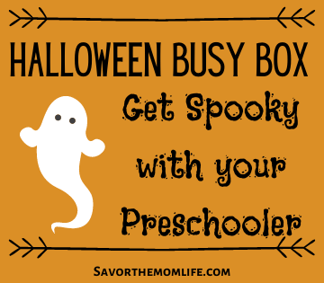 Halloween Busy Box- Get Spooky with Your Preschooler