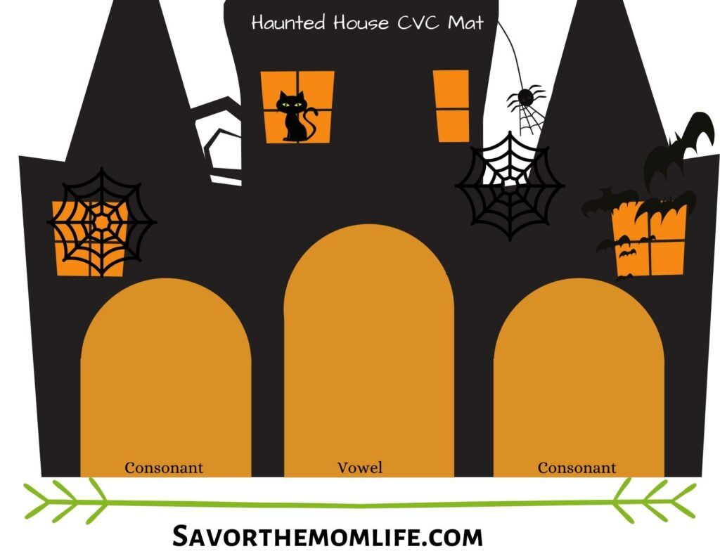 Haunted House CVC Mat
