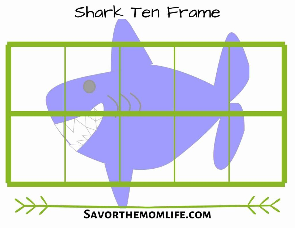 Shark Ten Frame