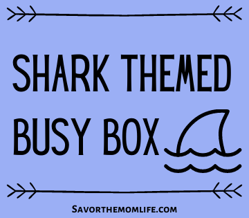 Shark Themed Busy Box