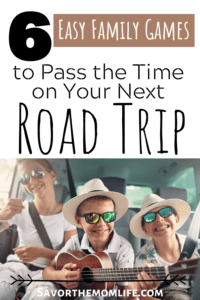 6 Easy Family Games to Pass Time on Your Next Road Trip