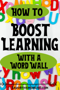 How to Boost Learning Using a Word Wall