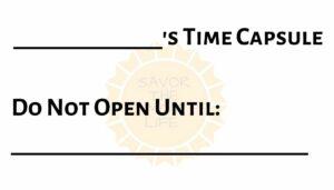 Time Capsule Label