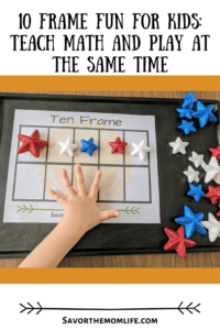 10 Frame Fun for Kids: Teach Math and play at the same time