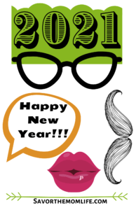 Printable New Year Photo Props