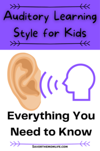 Auditory Learning Style for Kids