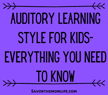 Auditory Learning Style for Kids- Everything You Need to Know