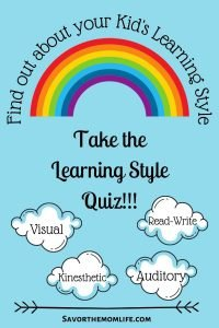 Find out Your kids Learning Style: Take the Learning Style Quiz