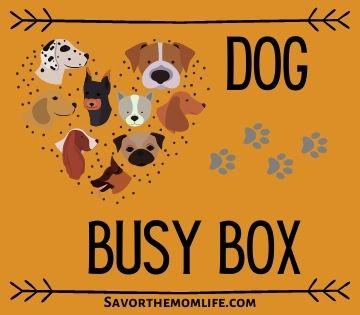 Dog Busy Box