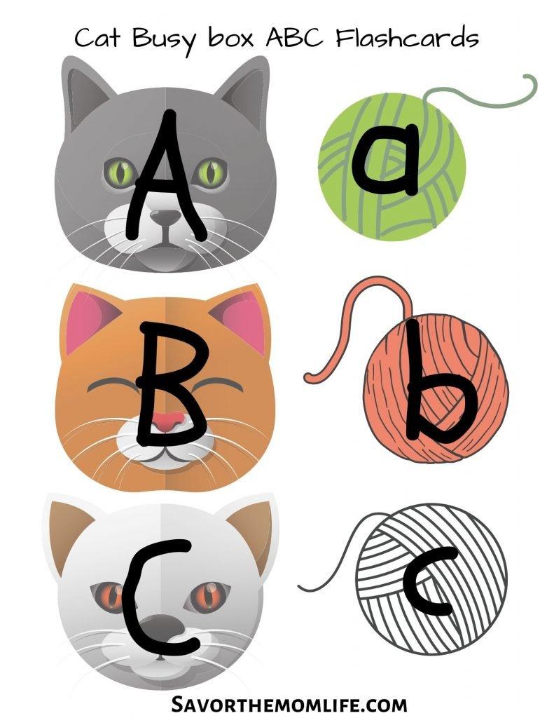 Cat ABC Flashcards